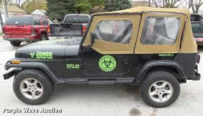zombie response jeep 1992 jeep wrangler yj suv item dz9032 sold november 29