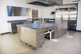 Commercial Kitchen Designs Stainless Steel Commercial Kitchen Home Interior Design Simple