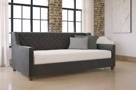 willa arlo interiors pihu upholstered daybed u0026 reviews wayfair