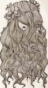 top 25 best hair illustration ideas on pinterest drawing hair