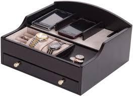 jewelryboxplus com ricardo charging valet mens valet boxes