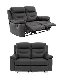 3 Seat Recliner Sofa by Manual 2 Seater Small Recliner Sofa Compactsofa Co Uk