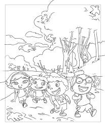 frank summers animation einsteins coloring book drawings