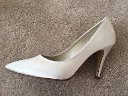 wedding shoes exeter ivory satin wedding shoes size 6 39 rainbow club ivian in
