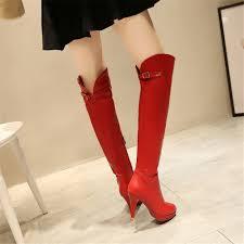 womens thigh high boots size 11 thigh high boots shoes platform high heels boots