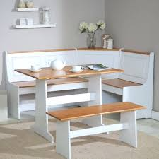 white kitchen nook sets a white painted wood oval table might