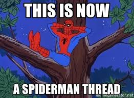 Spider Man Meme Generator - this is now a spiderman thread spiderman tree meme generator