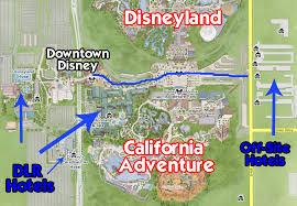 map of california adventure the logistics of disneyland disneyland daily