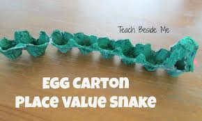 place value snake teach beside me