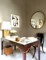 large home office 25 cool ways to decorate home office walls digsdigs