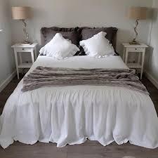 amazon com linen coverlet linen bedspread linen bed cover