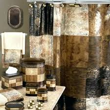 Bathroom Shower Curtain And Rug Set Walmart Bathroom Shower Curtain Sets Mainstays Multi Chevron