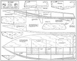 ski boat plans aerofred download free model airplane plans