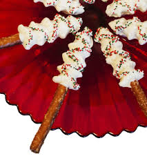 good little gifts white chocolate christmas tree pretzel rods