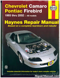 gm camaro and firebird 1993 2002 haynes repair manuals browse