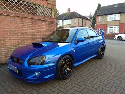 subaru hatchback 2004 2004 subaru impreza wrx sti type uk low miles mint v2 air