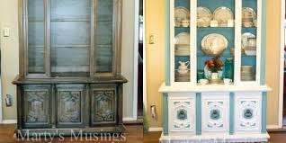 kitchen china cabinet repaint china cabinet frugal tips for transforming the kitchen