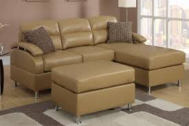 Leather Sectional Sofa With Ottoman by Tan Bonded Leather Sectional Sofa With Ottoman Lowest Price Sofa