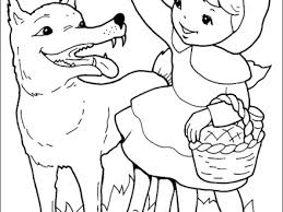 red riding hood coloring pages coloringpagesabccom red