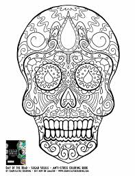 Free Printable Halloween Coloring Sheets by Getcoloringpagescom Day Dia De Los Muertos Printable Coloring