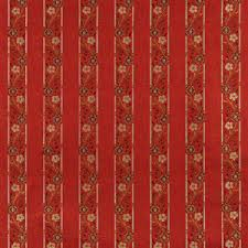 Upholstery Fabric Striped A0013g Red Brown Gold Ivory Striped Floral Brocade Upholstery