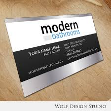business card design contests modernbathrooms ca image
