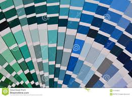 Pantone Color Blue Pantone Color Sampler Royalty Free Stock Photo Image 21152825