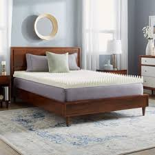 size twin xl memory foam mattress toppers for less overstock com