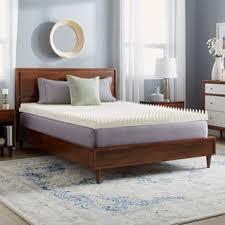 size queen memory foam mattress toppers shop the best deals for