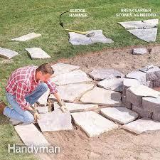 Building Flagstone Patio Installing A Flagstone Patio Outdoor Living Patios Outdoor Fun