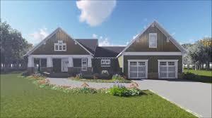craftsman ranch houseplan 8041 youtube