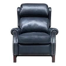 light blue recliner chair light blue leather recliner wayfair