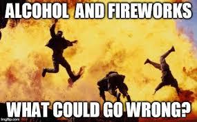 Fireworks Meme - explosions imgflip