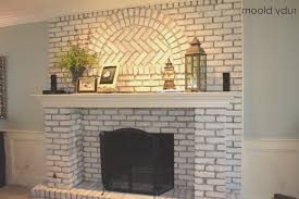 fireplace fresh how to paint brick fireplace white amazing home