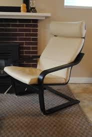 Leather Poang Chair Ikea Poang Rocking Chair
