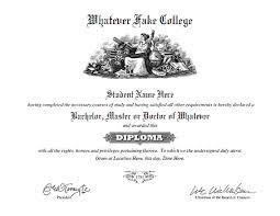 fake diploma and transcript templates
