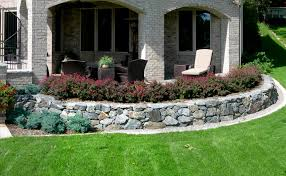 Raised Rock Garden by Raised Planters Reflections From Wandsnider Landscape Architects