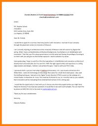 10 internship application addressing letter
