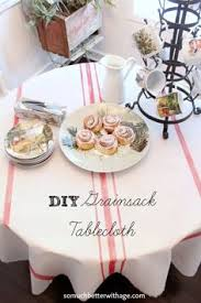 How To Make A Table Skirt by Great Idea Add Pompom Trim To Leftover Fabric To Make A