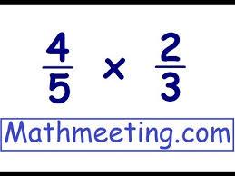 multiplying fractions youtube