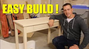 How To Build A Small Desk Easy Build Small Desk