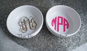 monogrammed dishes monogrammed ring dish