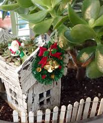 fairy garden wreath miniature christmas wreath fairy garden