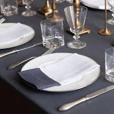 modern table linen huddleson linens gold silver linen napkins organic modern