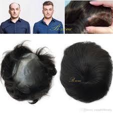 men hair weave pictures stock super thin skin pu v loop virgin human hair mens toupee hair