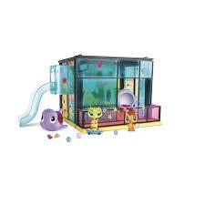 amazon com littlest pet shop pet day camp style set toys u0026 games