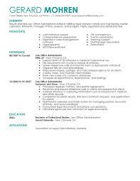 best office administrator resume exle livecareer