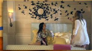 chambre serena gossip the wall of butterflies in the room of serena der woodsen