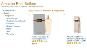Ivanka Trump Amazon Ivanka Trump U0027s Perfume Is Now The Number One Fragrance On Amazon