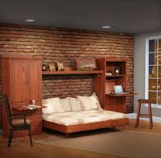 Murphy Bed Everyday Use Solid Wood Amish Murphy Beds Comfort Wood Murphy Wall Bed